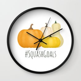 #SquashGoals Wall Clock