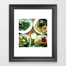 Jenny's Lunch Framed Art Print