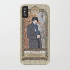 Sherlock Victorian Language of Flowers - Autumn iPhone X Slim Case