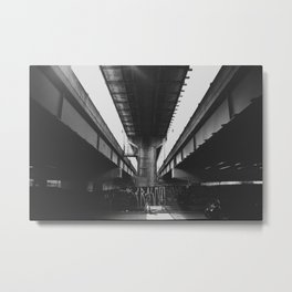 The Underpass Part I Metal Print