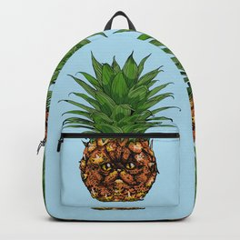 Pineapple Persian Cat Backpack