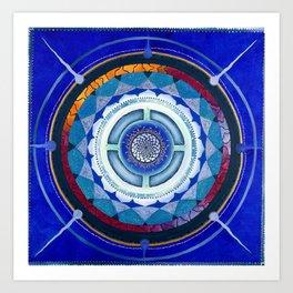 inner mandala Art Print
