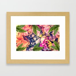Flower dream Framed Art Print