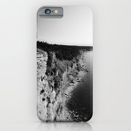 Where sea meets land iPhone Case