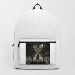 Sands of Time ... Memento Mori - Monochrome Backpack