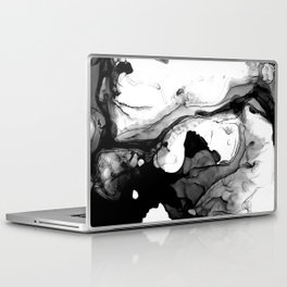Soft Black Marble Laptop & iPad Skin