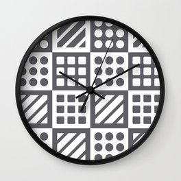 Billiplay Geometric Wall Clock