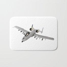 American A-10 Warthog Jet Aircraft Bath Mat