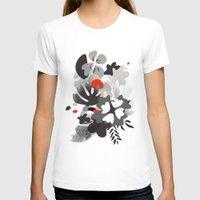 scandinavian T-shirts featuring scandinavian nature by Lucja