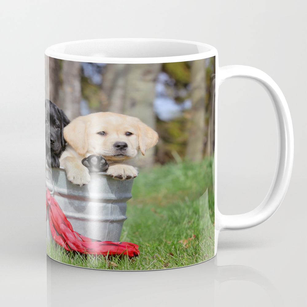 Puppies Tea Cup by Mszabophotography MUG8684065