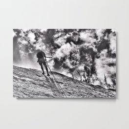 Repel  Metal Print