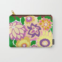 CAMBRIA, ART DECO FLORALS: BOHO SUMMER Carry-All Pouch