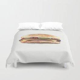 Color pencil Hamburger Duvet Cover
