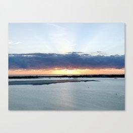Sunrise on the GC Canvas Print