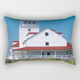 Old Coast Guard Station - Ocracoke Rectangular Pillow