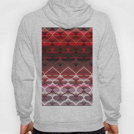 Red Fractals Hoody