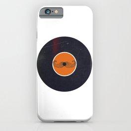 Vinyl Record Art & Design | Handlebar Mustache iPhone Case