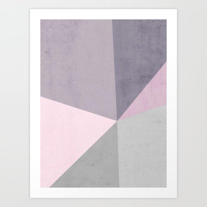 Desert Rose Palette Art Print
