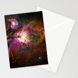 Orion Nebula Deep Space Telescopic Photograph Stationery Cards