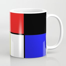 Mondrian #21 Coffee Mug
