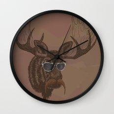 Mr. Moose Wall Clock