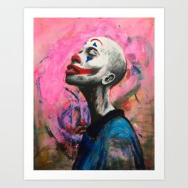A Clown Reborn Art Print