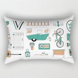 Favorite Things Rectangular Pillow