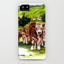 Herd It Throught the Grapevine iPhone Case