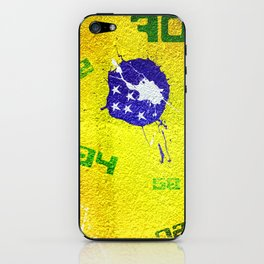 Brazil World Cup iPhone Skin