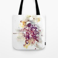 earthbound Tote Bags featuring Summer Nights by Travis Clarke