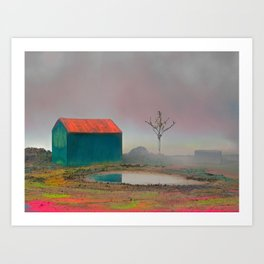 Once Upon A time #6. (Colourfield) Art Print