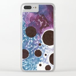 Holes in the Sky Clear iPhone Case