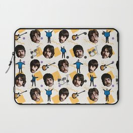 Beatle doodle art Laptop Sleeve
