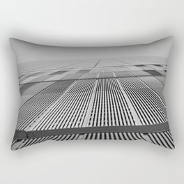 NEW YORK BUILDING.  Rectangular Pillow