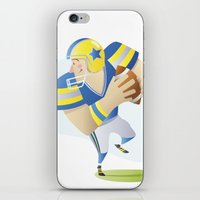football iPhone & iPod Skins featuring Football by Dues Creatius