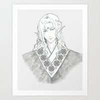 Ishyn Art Print
