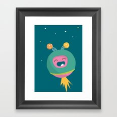 Letter O Framed Art Print