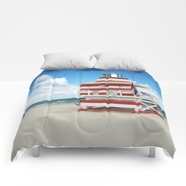 Baywatch House (Miami Beach, Florida) Comforters