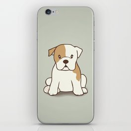 English Bulldog Illustration iPhone Skin