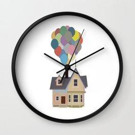 Up house Wall Clock