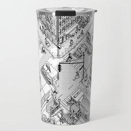 MacPaint project: NYC Travel Mug