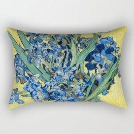1890-Vincent van Gogh-Irises-73,5x92 Rectangular Pillow