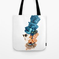 sunglasses Tote Bags featuring sunglasses by PLASTIK FACTORY