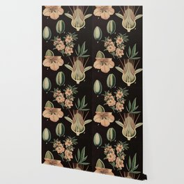 Botanical Almond Wallpaper