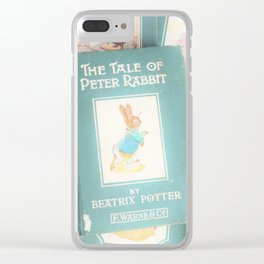 Peter Rabbit and friends Clear iPhone Case