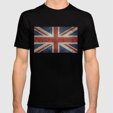 Union Jack Official 3:5 Scale MEDIUM Mens Fitted Tee Black