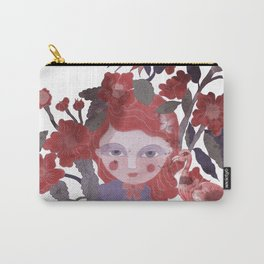The flamingo inspire me... Carry-All Pouch
