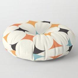 Art print mid century modern, mid century modern art, mid century modern decor, prints, abstract art Floor Pillow