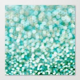 Aqua Versa Canvas Print