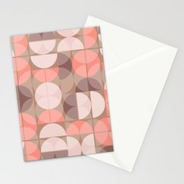 Lunes en rose Stationery Cards